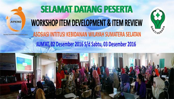 Workshop Item Development & Item Review Soal
